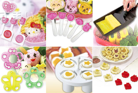 bento items of the week hello kitty theme bento making tools and more just bento. Black Bedroom Furniture Sets. Home Design Ideas