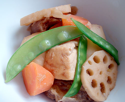 Root vegetables and tofu stewed in miso sauce a vegan one pot meal root vegetables and tofu stewed in miso sauce a vegan one pot meal forumfinder Choice Image