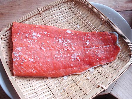 Onigiri Bento How to: Make Salted Sa...
