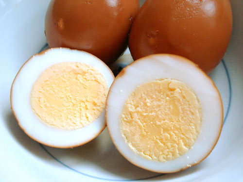 flavor wise miso marinated eggs or the lazy tea eggs