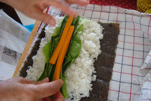 A Sushi Roll Bento Plus How To Make Sushi Rolls Without A