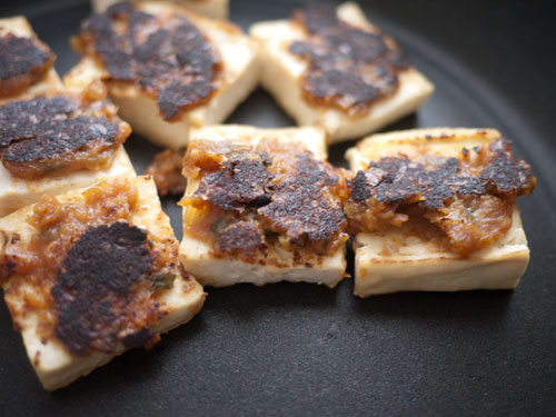 Crispy Japanese Tofu Bites Recipe — Dishmaps